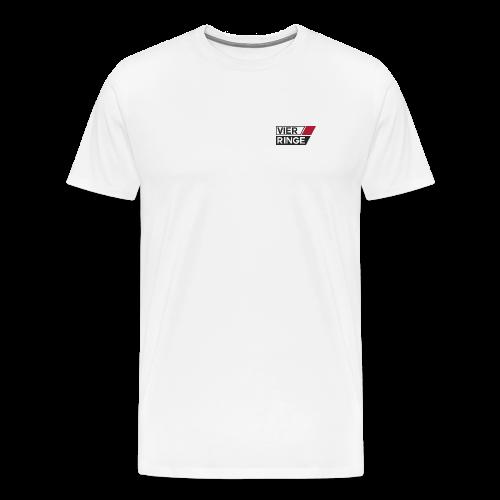 Vier-Ringe Logo - Männer Premium T-Shirt