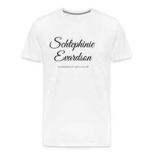 Schtephinie Evardson Lisp Awareness - Men's Premium T-Shirt