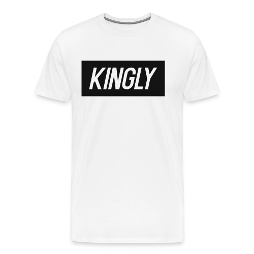 Kingly Basic Motive - Men's Premium T-Shirt