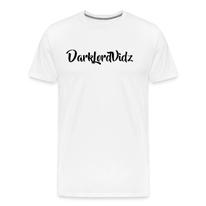 DarklordVidz Black Logo - Men's Premium T-Shirt
