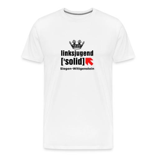 linksjugend ['solid] SiWi Schwarz - Männer Premium T-Shirt