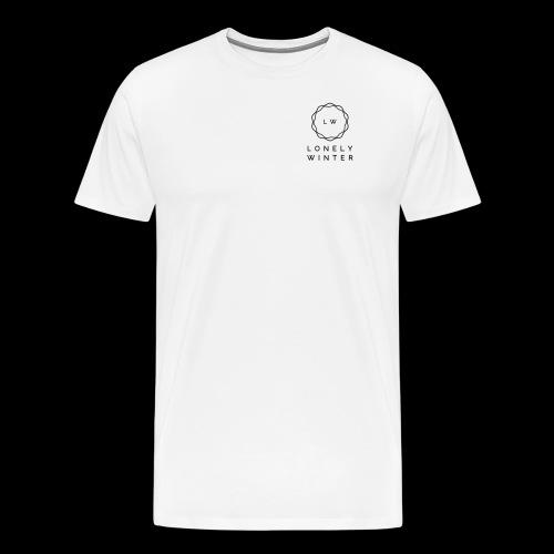 Lonely Winter - Männer Premium T-Shirt