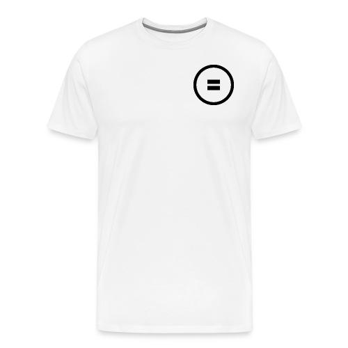 Gleich Zeichen - Männer Premium T-Shirt