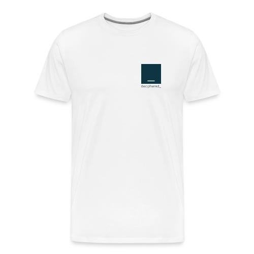 Deciphered Swag - Men's Premium T-Shirt