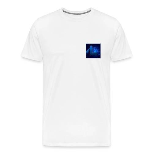 Logo GamenMetLucas - Mannen Premium T-shirt
