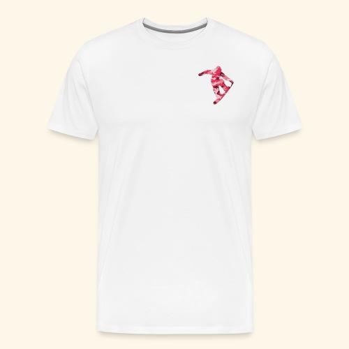 camouflage pink snowboarda Von Nuke - Männer Premium T-Shirt