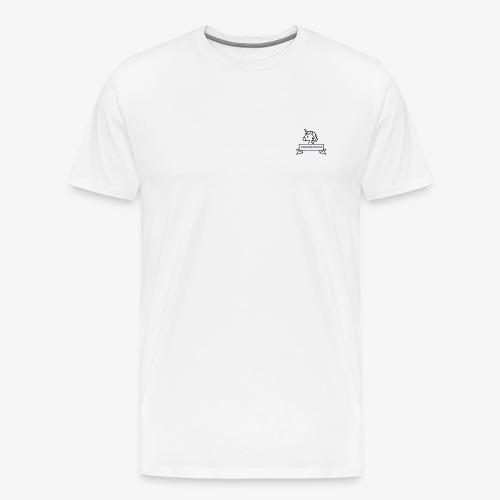 LIFE IS LIKE A UNICORN - Männer Premium T-Shirt