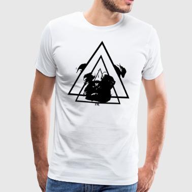 Mops. - Premium T-skjorte for menn