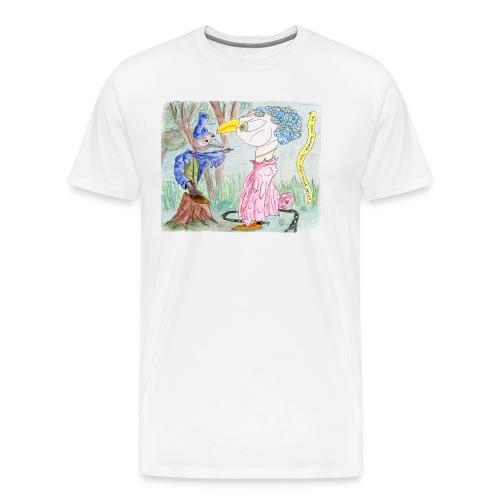 Het goed bedoelde maar ongevraagde advies - Mannen Premium T-shirt