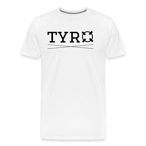 Tyro Logo schwarz - Männer Premium T-Shirt