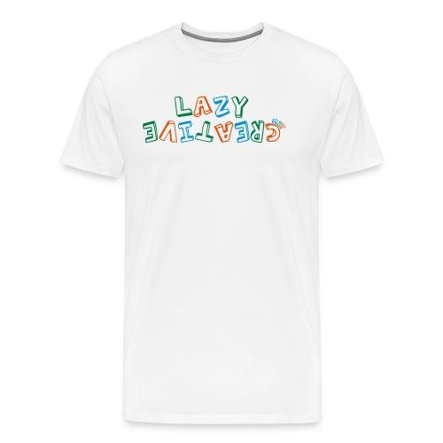 LC PUM Org logo White - Premium-T-shirt herr