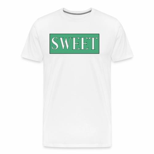 SWEET - Premium T-skjorte for menn