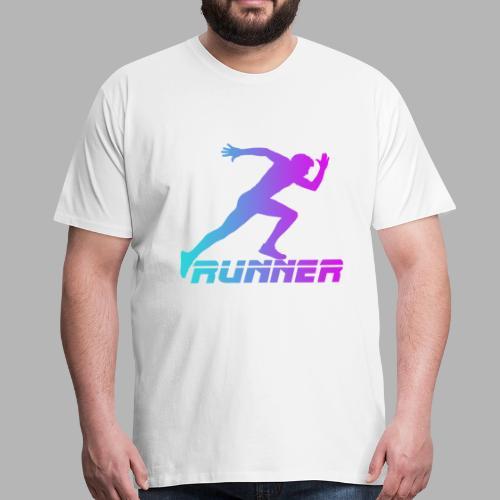Runner - T-shirt Premium Homme