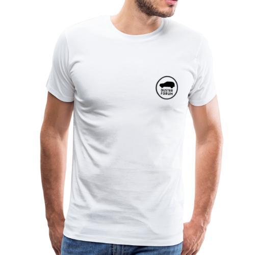 Liten Logo - Premium-T-shirt herr