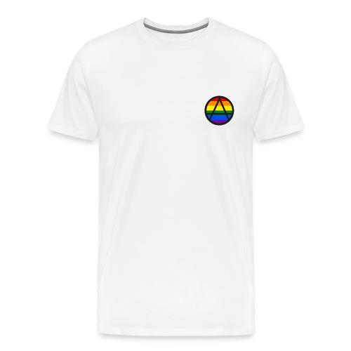 Logo ZELA drapeux gay - T-shirt Premium Homme