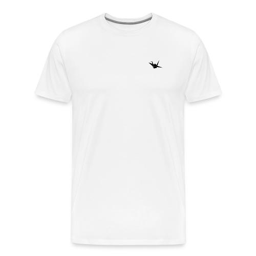 Crane bird - Mannen Premium T-shirt