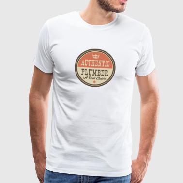 AUTHENTIC Putkimies - putkimies - Miesten premium t-paita