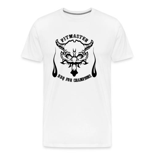 Pitmaster - BBQ for Champions - Barbecue Shirt - Männer Premium T-Shirt