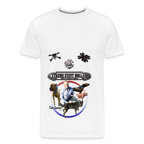 Xtreme Event Holland with Tom Garner - Mannen Premium T-shirt