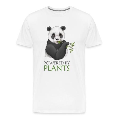 Panda 2 Plantbased - Premium-T-shirt herr
