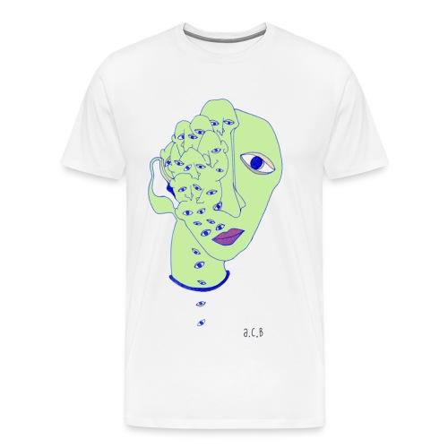Eyedrop - Mannen Premium T-shirt