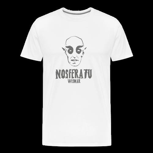 Nosferatu Kopf Wismar - Männer Premium T-Shirt