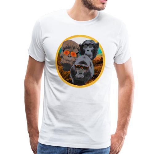 Primatenbande - Männer Premium T-Shirt