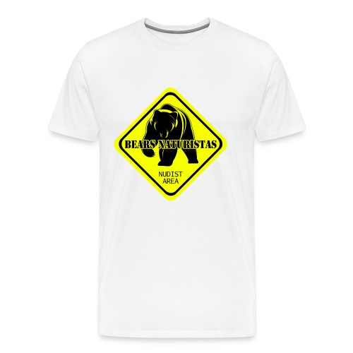 bears naturistas - Camiseta premium hombre