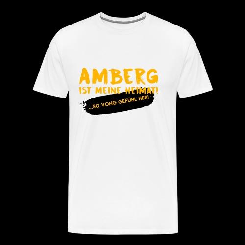 Amberg vong Gefühl - Männer Premium T-Shirt