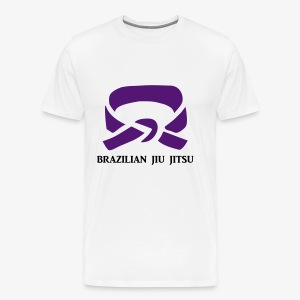 BJJ Purple Belt Clothing - Men's Premium T-Shirt