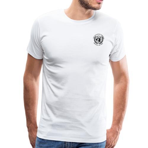 zwart borst - Mannen Premium T-shirt