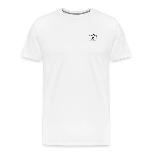 Langlaufen is bärig - Männer Premium T-Shirt