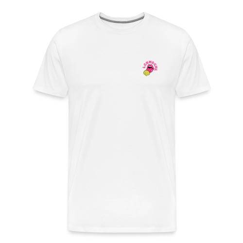 LCKMSCHL small badge - Männer Premium T-Shirt