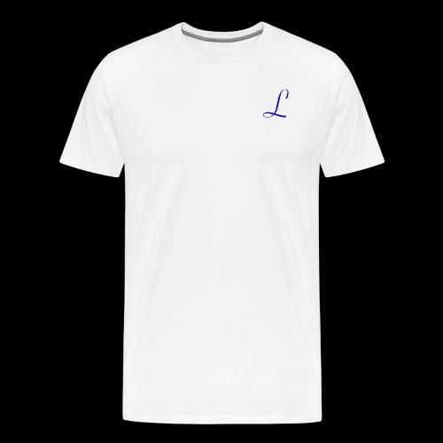Liberty logo - Mannen Premium T-shirt