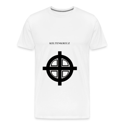 Kelten-kreuz Motiv 1 - Männer Premium T-Shirt
