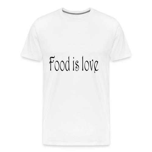 FoodIsLove - Männer Premium T-Shirt