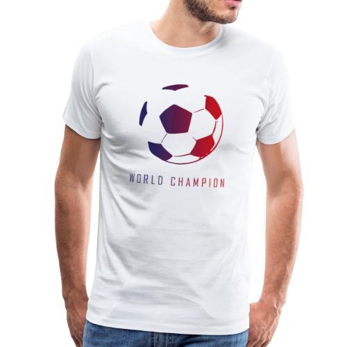 Champion du Monde - T-shirt Premium Homme