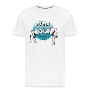 World Elephant Day 2017 - Männer Premium T-Shirt