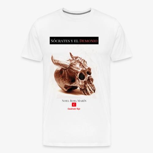 Sócrates y el Demonio - Camiseta premium hombre