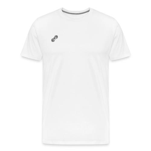 Logo dekleintubers - Mannen Premium T-shirt