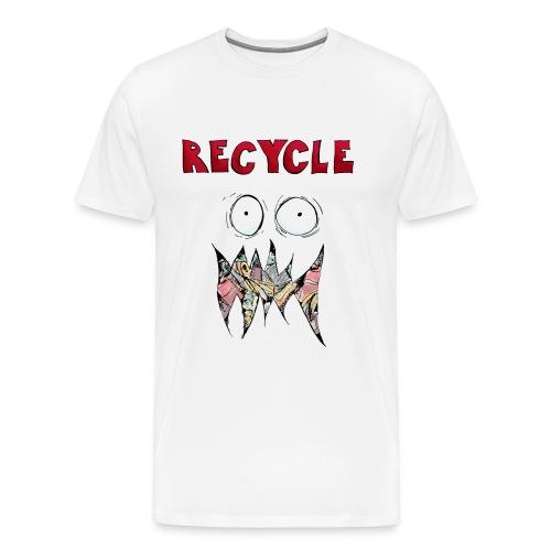 Recycle! - Mannen Premium T-shirt