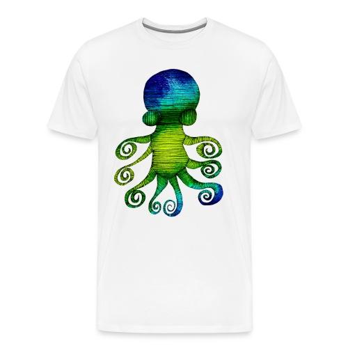 Tintenfisch - Männer Premium T-Shirt