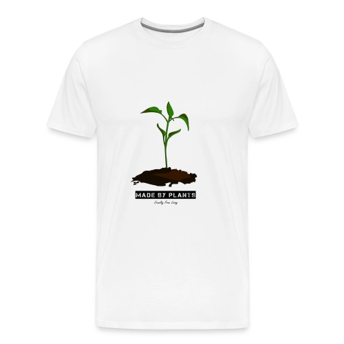 Made by plants - Men's Premium T-Shirt