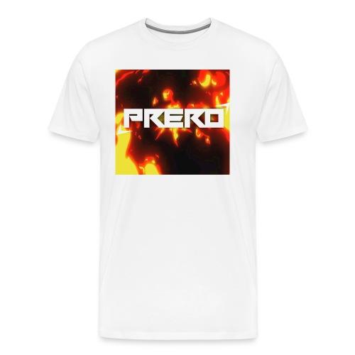 Prero Profil t-shirt - Männer Premium T-Shirt