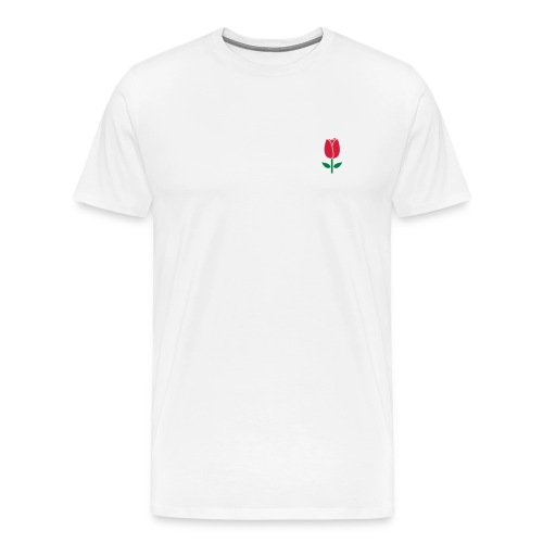 Tulip2 - Mannen Premium T-shirt
