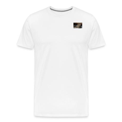 ILOVECATS Polo - Mannen Premium T-shirt