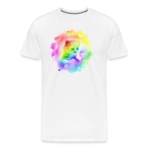 Rainbow Kitty - Men's Premium T-Shirt