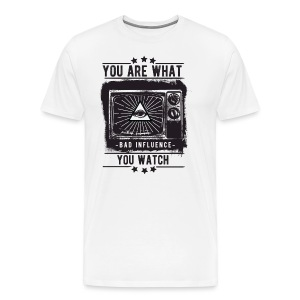 You Are What You Watch - Men's Premium T-Shirt