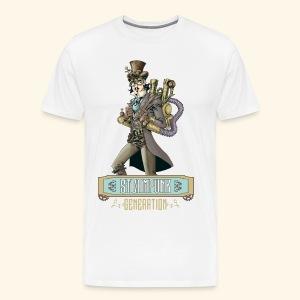 steampunk generation - Camiseta premium hombre