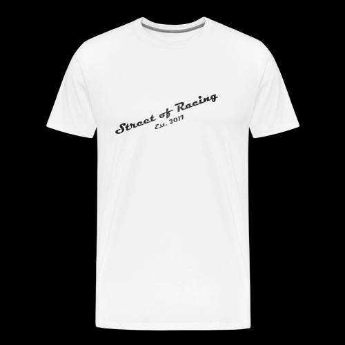 Street of Racing - collection two - Männer Premium T-Shirt